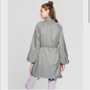 NWT Joy Lab grey Rain Jacket